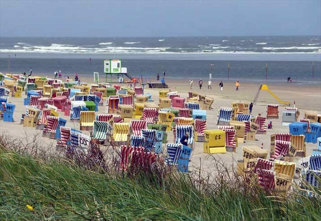 Strand in Friesland